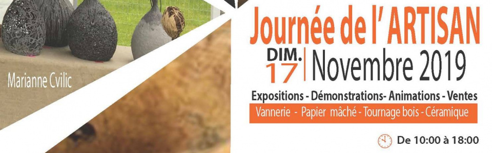 Commune de Ham-sur-Heure-Nalinnes | Journée de l'Artisan : C'est à Ham-sur-Heure-Nalinnes aussi!