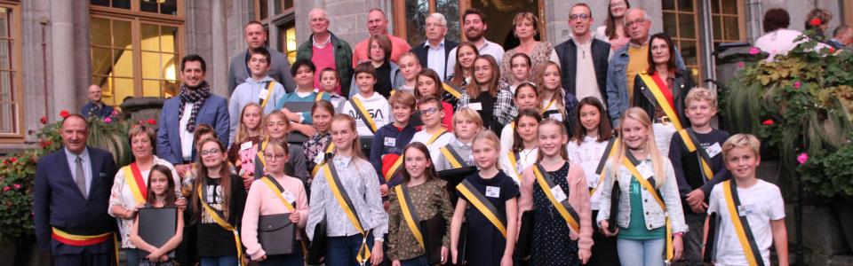 Commune de Ham-sur-Heure-Nalinnes | Composition du Conseil communal des enfants