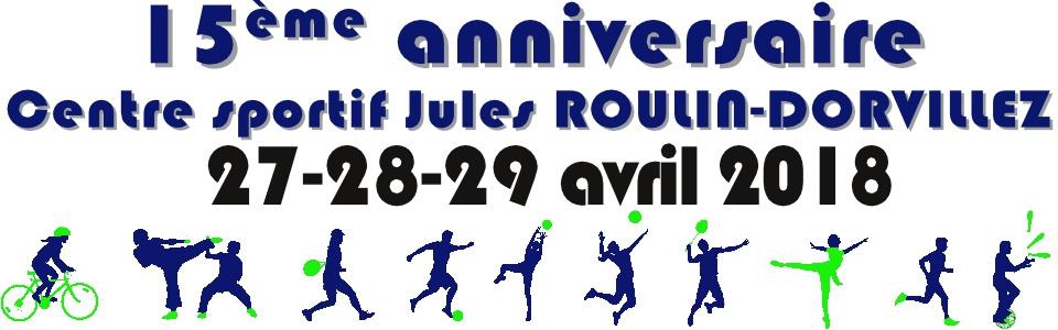 Commune de Ham-sur-Heure-Nalinnes | 15 ans du Centre sportif Jules ROULIN-DORVILLEZ