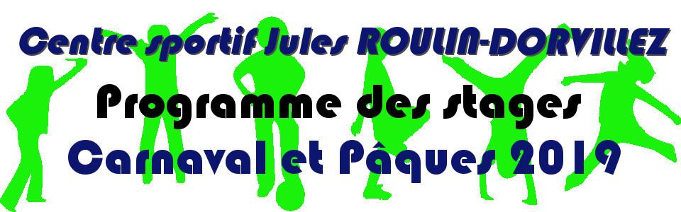 Commune de Ham-sur-Heure-Nalinnes   Programme des stages au Centre sportif Jules ROULIN-DORVILLEZ