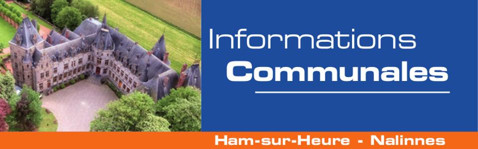 Commune de Ham-sur-Heure-Nalinnes | Bulletin communal - avril 2019