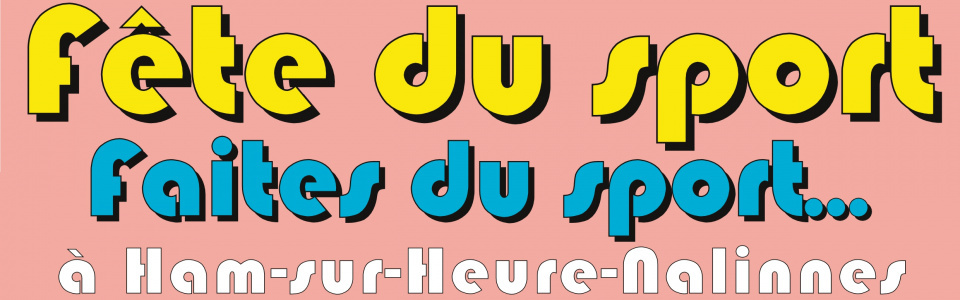 Commune de Ham-sur-Heure-Nalinnes   Fête du sport