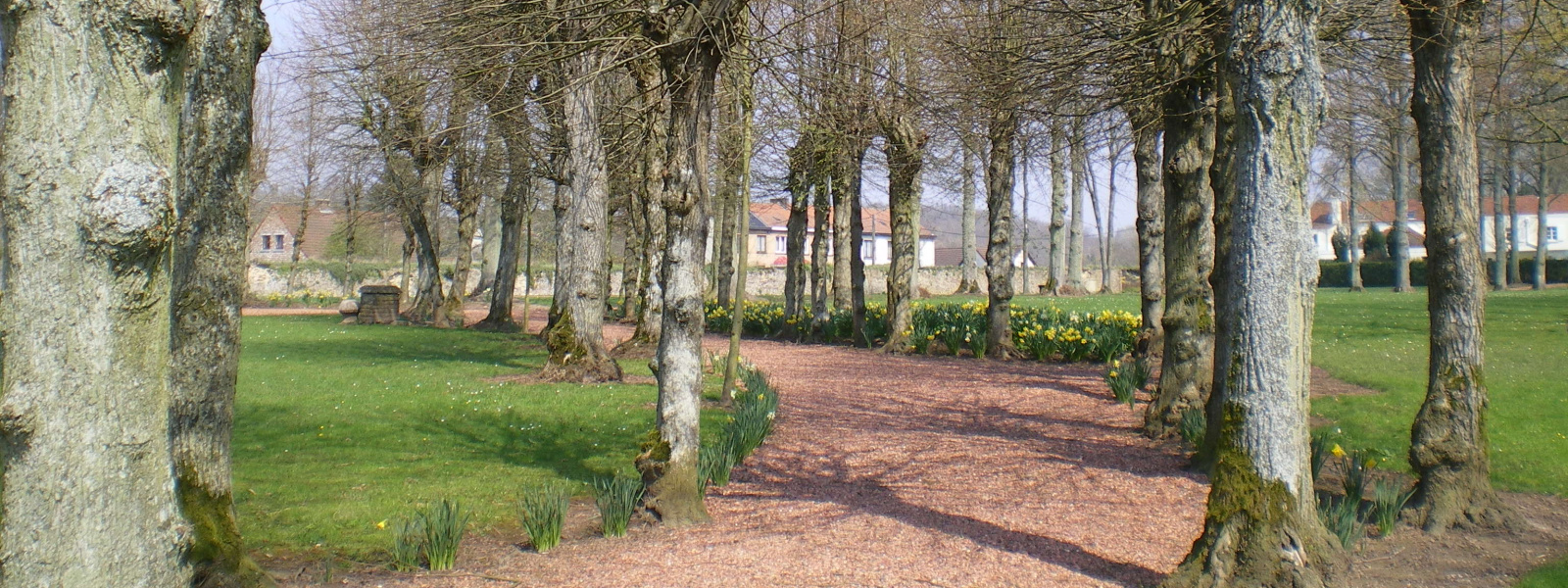 Commune de Ham-sur-Heure-Nalinnes | Parc Château Ham-sur-Heure printemps 1