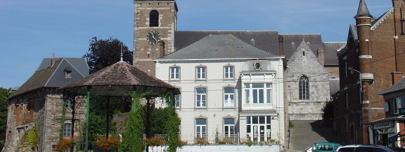 Commune de Ham-sur-Heure-Nalinnes | place de Nalinnes